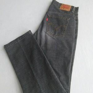 Levis 505 Low Rise straight leg women jeans